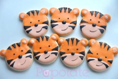 Cute tiger cookies