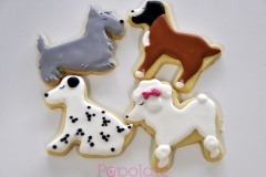 Dog breed cookies