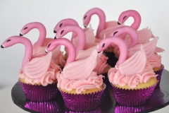 Flamingo Art Cupcakes