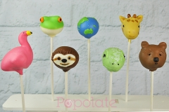 Planet Earth 2 cake pops