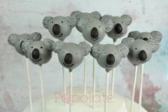 Koala cake pops
