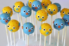 Pufferfish cake pops