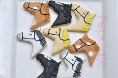 Racing horse cookies