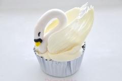 Swan Cupcake