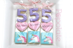 Unicorn set cookies