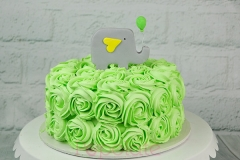 Buttercream Rosette cake for Baby shower