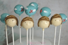 Aviator Cake Pops