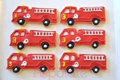 Fire Engine cookies; Transport