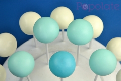 Blue Ombre cake pops