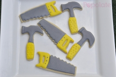 Tradie construction tools cookies