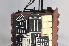 Chocolate City Cake