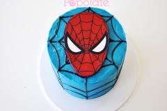 Spiderman buttercream