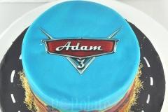 Lightning Mcqueen custom  cake