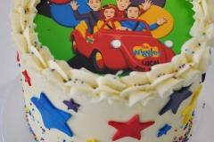 Wiggles Printed Cake