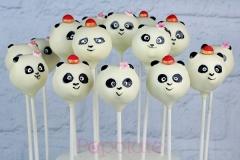 Baby Kung Fu Panda cake pops