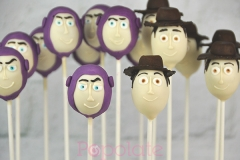 Buzz and Woody cake pops