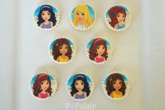 Lego friends cookies, biscuits