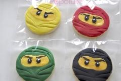 Lego Ninjago cookies