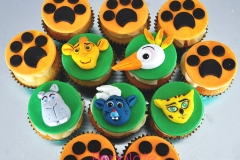 Lion Guard Disney Cupcakes