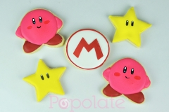 Mario and Kirby cookies