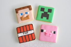 Minecraft Blocks and Creatures