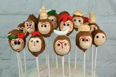 Moana Kakamora coconut cake pops
