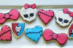Monster high decorated cookie set