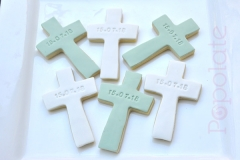 Personalised baptism cookie