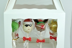 Christmas cake pop dozen