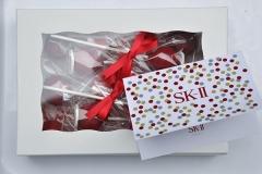 Christmas gift cake pops