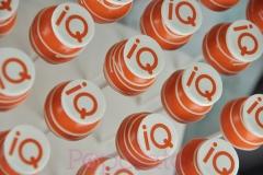 IQ branded cake pops