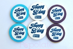 BPAY birthday cookies