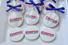 Costco logo cookies