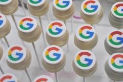 Google Logo Cakepops