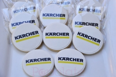Karcher logo cookies