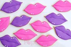 Lips cookies fpr Mecca