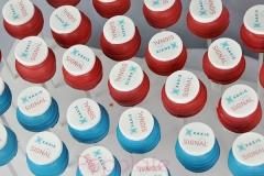 logo cake pops
