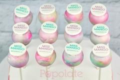 Miss Mango cake pops