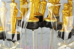 Oscar cake pops for NW, OK! Mag