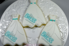 Say Yes to the Dress Cookies