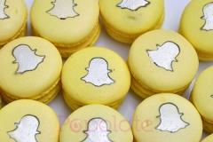 Snapchat macarons
