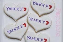 Yahoo7 corporate cookies for Valentine's