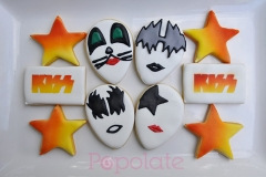 KISS band cookies