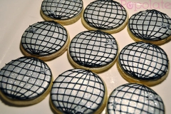 Disco ball cookies