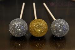 Glitter and sparkle cake pops