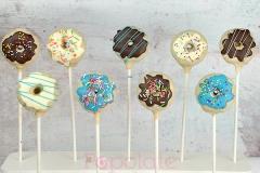 Vintage donut cake pops