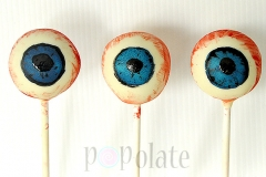 Eye ball cake pops