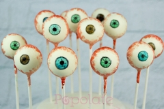 Halloween eye ball cake pops