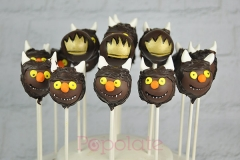 Where the wild things are cake pops vegan