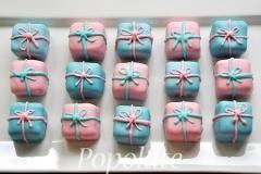 Present cake balls